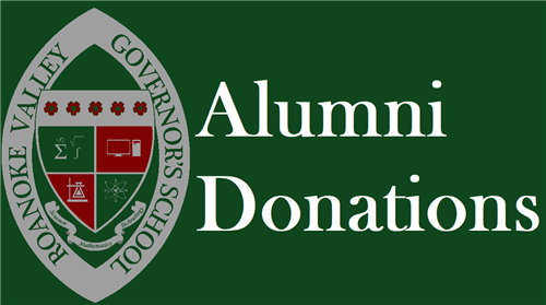 Alumni donations button